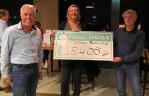 Golfbaan Bentwoud haalt € 18.405,- op voor Support Casper