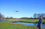Hermen Buurman zoekt het hogerop met een drone