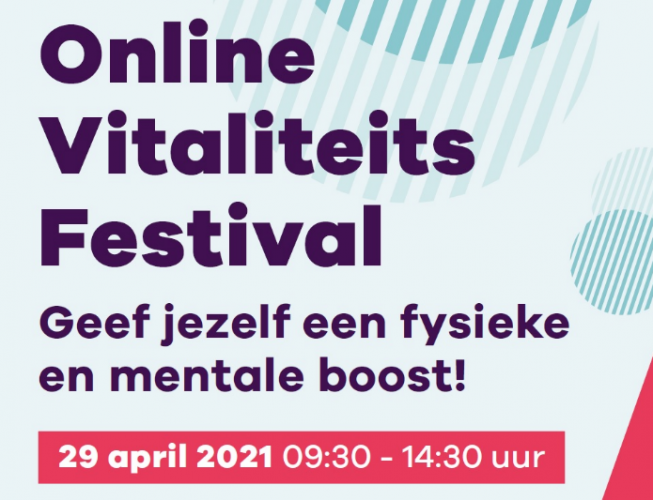 Docenten mboRijnland organiseren digitaal Vitaliteitsfestival voor studenten middels 18 workshops