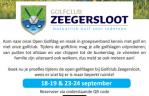 Open Golfdagen bij Golfclub Zeegersloot