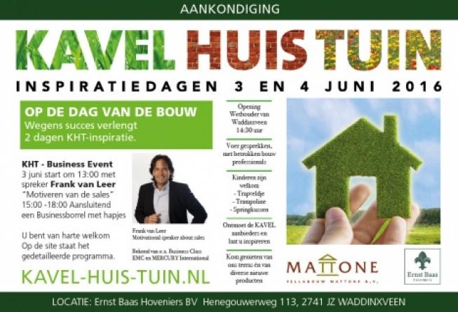 Inspiratiedagen Kavel-Huis-Tuin in Waddinxveen